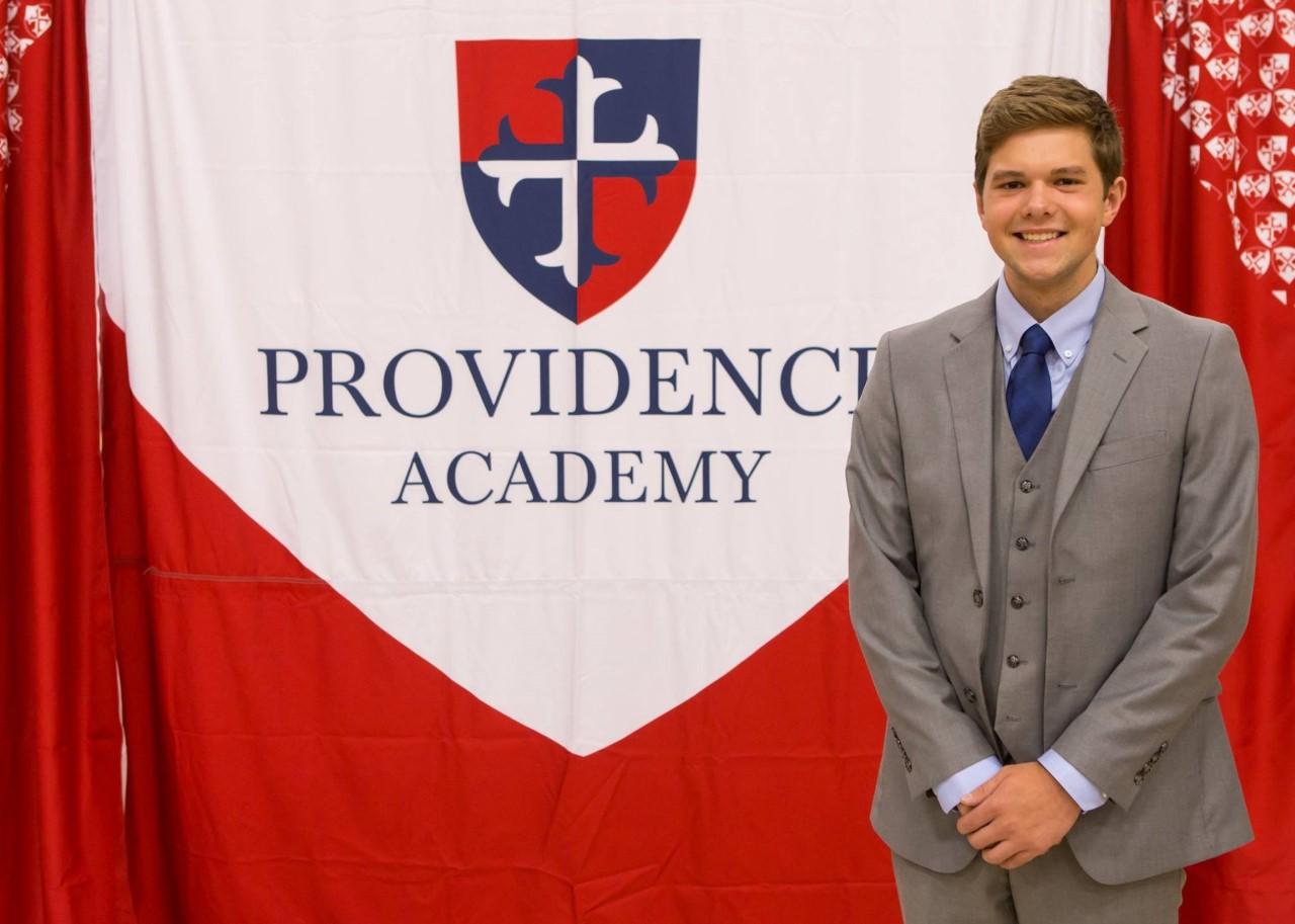 UMSI   Providence Academy's Eli Jackson Named National Merit Finalist